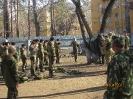 Поездка тимуровцев  из отряда им. В.Ф. Маргелова в Военно-Патриотическую школу